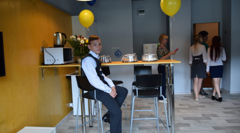Новую гостиную открыли в Барышевском центре помощи детям